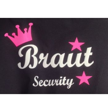 Shirt Braut Security
